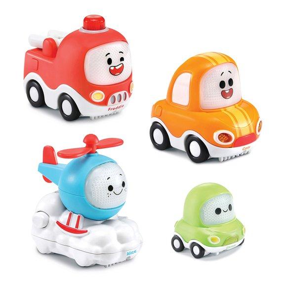 Pack de 4 véhicules Tut Tut Cory Bolides