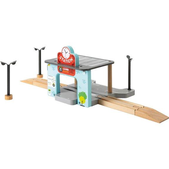 La gare en bois