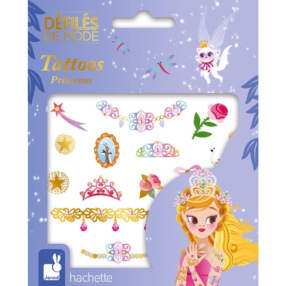 Défilés de mode : Tatouages Princesse