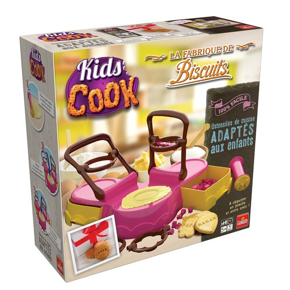 Kids Cook La Fabrique de Biscuits