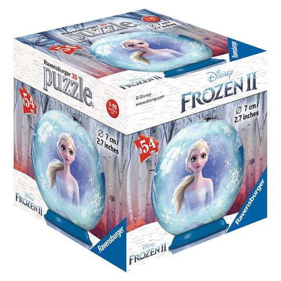 Puzzle 3D rond 54 pièces - Disney La Reine des Neiges 2