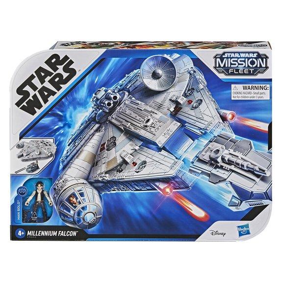 Star Wars Mission Fleet : le Faucon Millenium