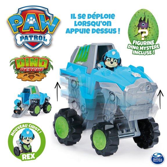 Véhicule + Figurine Rex Dino Rescue Pat'Patrouille - Paw Patrol