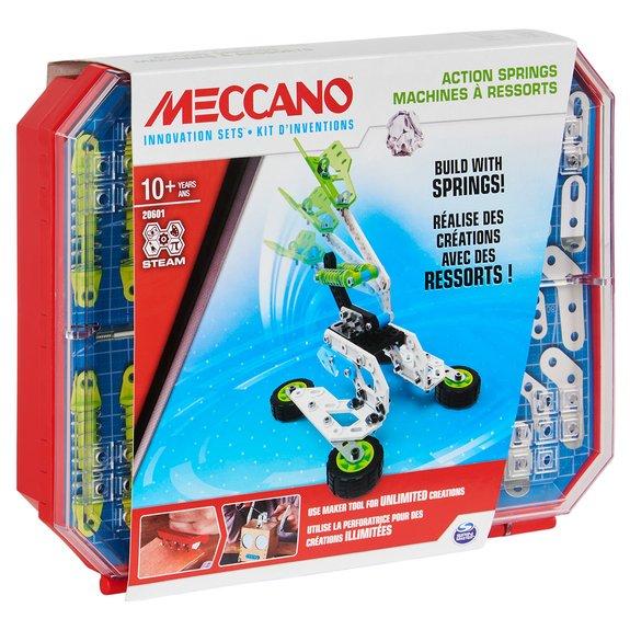Meccano - Kit d'inventions machines à ressorts
