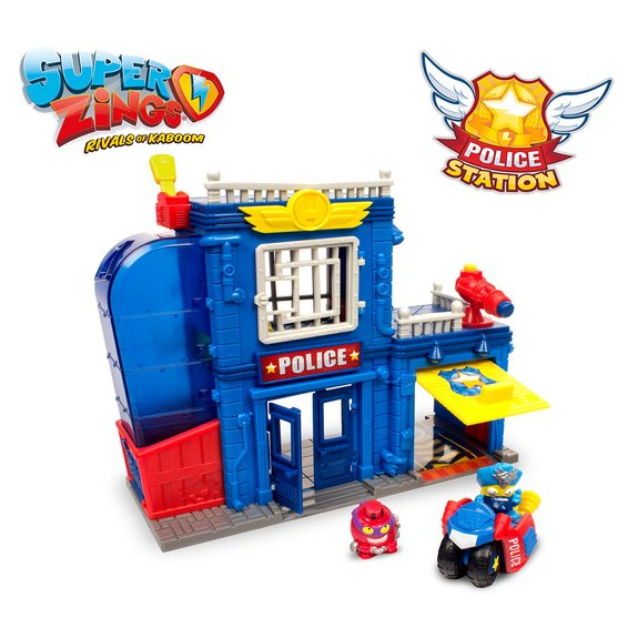 Super Zings Police Station Playset