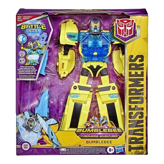 Figurine Transformers Bumblebee Cyberverse Aventure