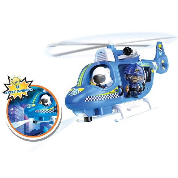Hélicoptère de police Pinypon Action