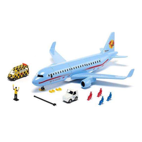 Avion de ligne avec accessoires SIKUWorld