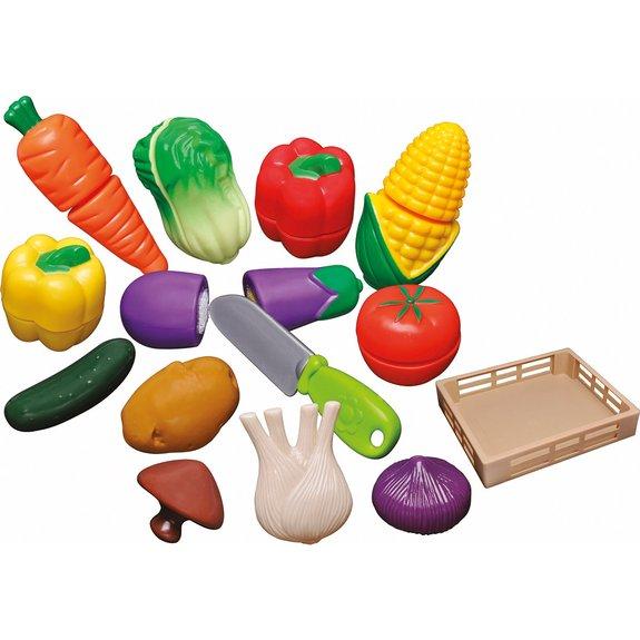 Cagette de légumes à découper