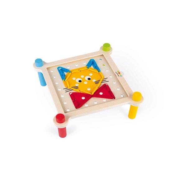 Table de laçage Essentiel en bois