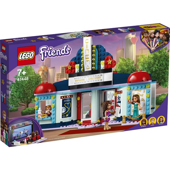 Le cinéma de Heartlake City LEGO FRIENDS 41448