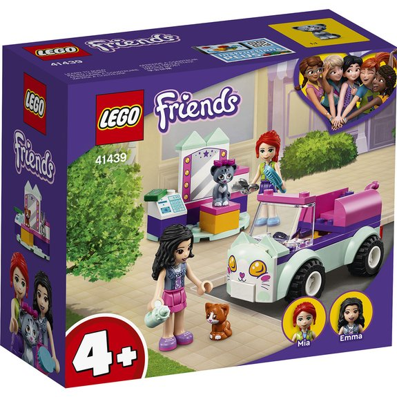 La voiture de toilettage pour chat LEGO FRIENDS 41439