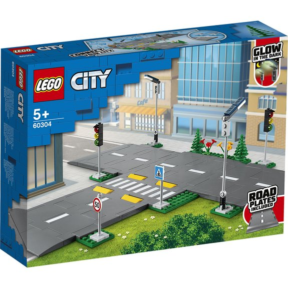 Intersection à assembler LEGO CITY 60304