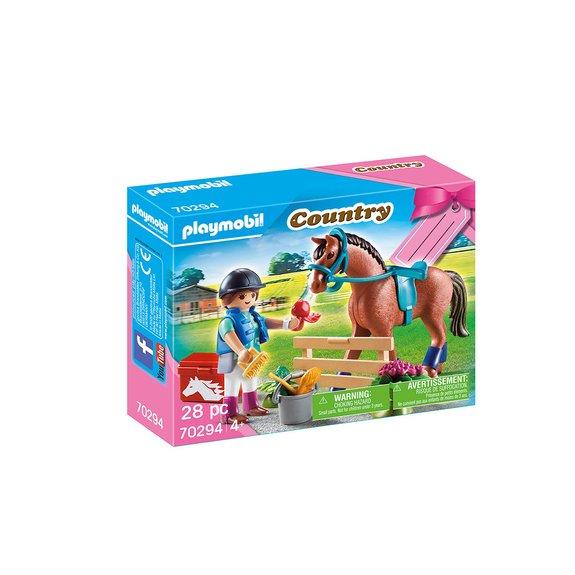 Set cadeau Cavalière Playmobil Country 70294