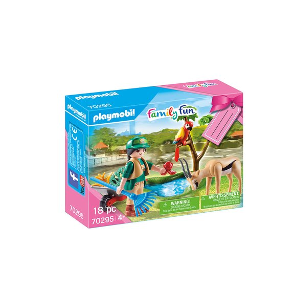 Set cadeau Soigneur Playmobil Family Fun 70295