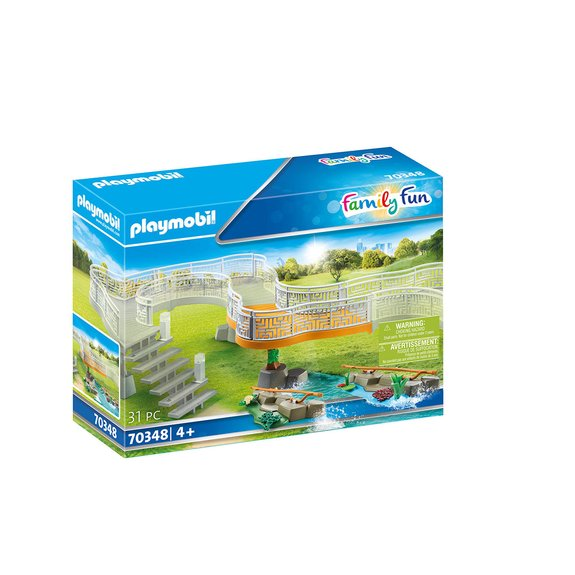 Extension pour parc animalier Playmobil Family Fun 70348
