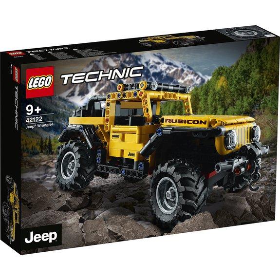 Jeep Wrangler Rubicon LEGO Technic 42122