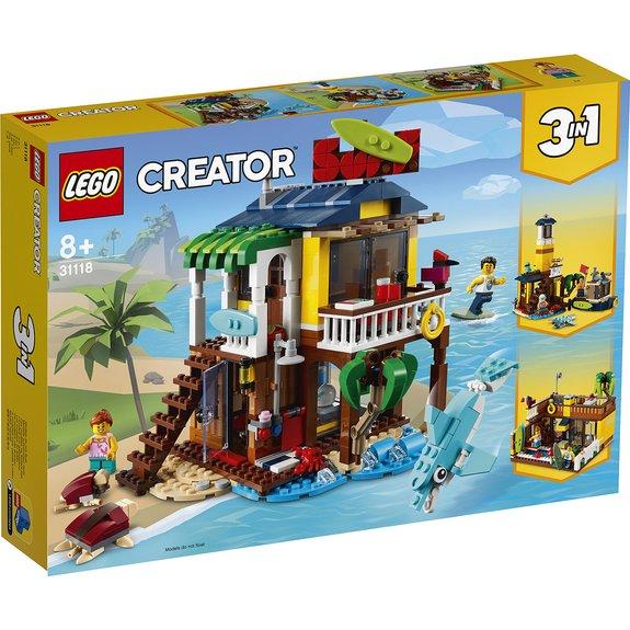 La maison sur la plage du surfeur LEGO Creator 31118