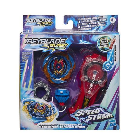 Beyblade Burst Speedstorm - Pack Puissance étincelante