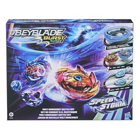 Set de combat Beyblade Burst Speedstorm K.O. électrique