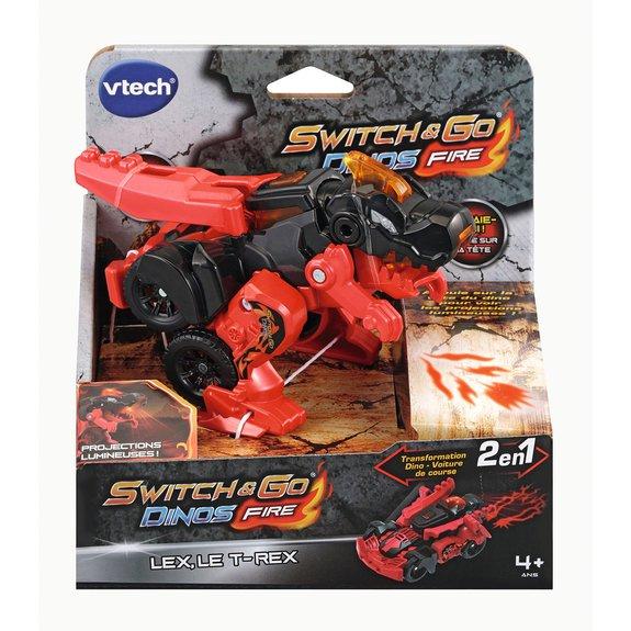Véhicule Petit Switch & Go Dino lance des flammes