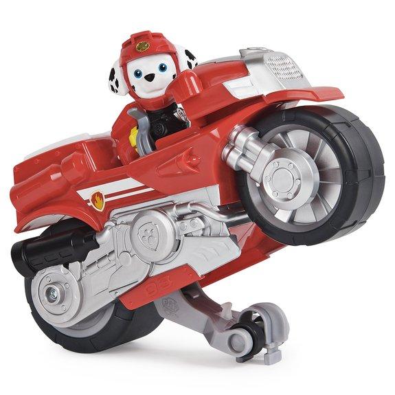 Pat' Patrouille - Véhicule + Figurine Moto Pups Paw Patrol