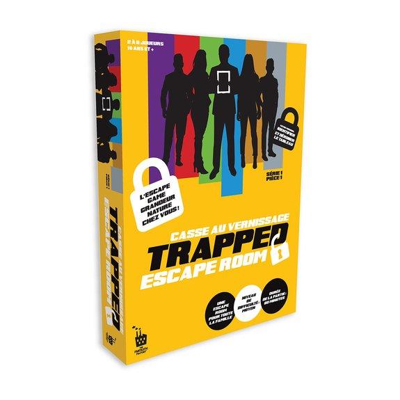 Trapped - Casse au Vernissage - Niveau Moyen