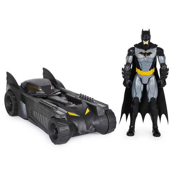Pack Batmobile et Figurine Batman 30 cm