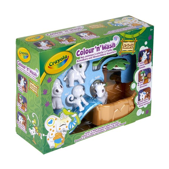 Color'N'Wash - Mes Animaux à Colorier - Coffret Safari