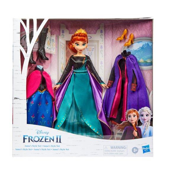 La Reine des Neiges 2 : Tenues d'Anna et ses accessoires