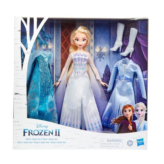 La Reine des Neiges 2 : Tenues dElsa et ses accessoires