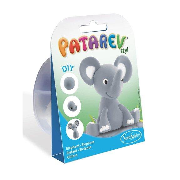 Pâte à modeler Patarev Pocket - Elephant
