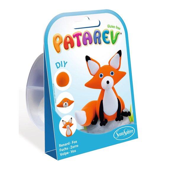 Pâte à modeler Patarev Pocket - Renard