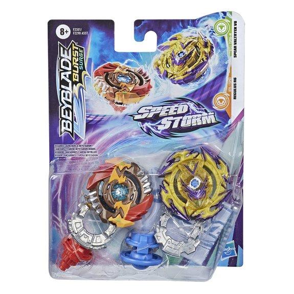 Pack de 2 toupies Speedstorm Beyblade Burst Surge