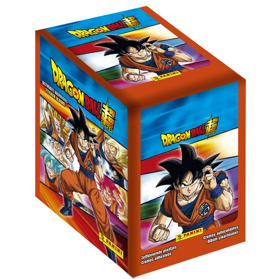 Panini - Boite 50 pochettes - 250 Stickers Dragon Ball