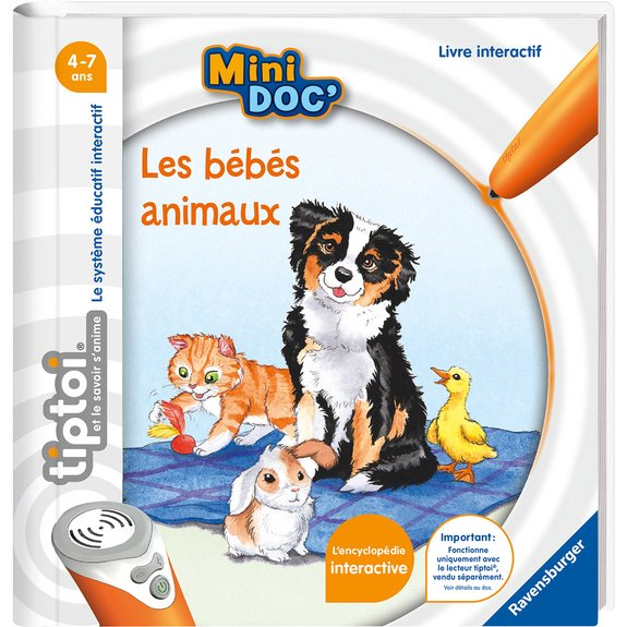Tiptoi - Mini Doc' - Les bébés animaux