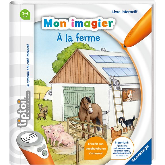 Tiptoi - Mon imagier - A la ferme