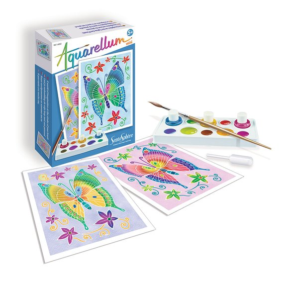 Aquarellum Mini - Papillons