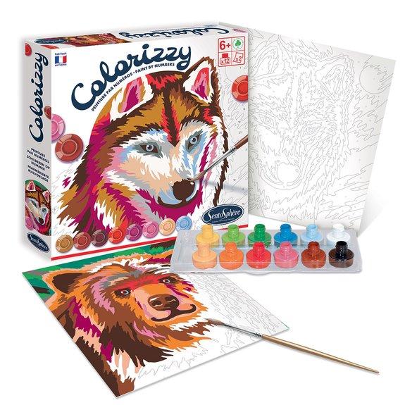 Colorizzy - Animaux de la forêt