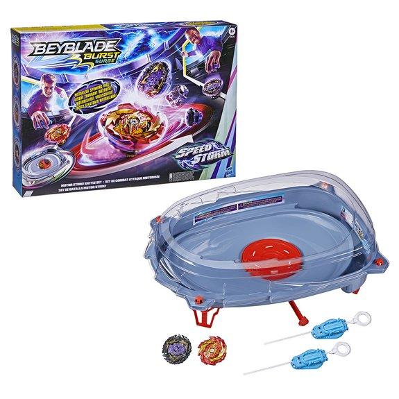 Battle set motor strike Beyblade Speed Storm