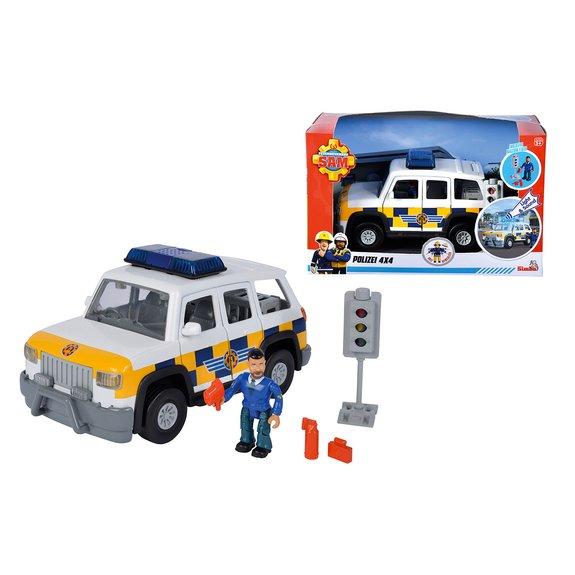 4 X 4 de police - Sam le pompier