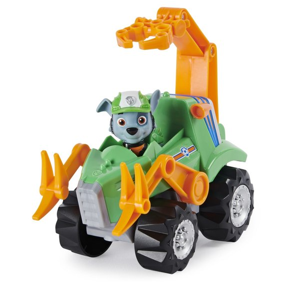 Véhicule et figurine Rocky Dino Rescue La Pat'Patrouille