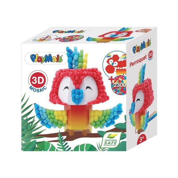 PLAYMAIS 3D Perroquet