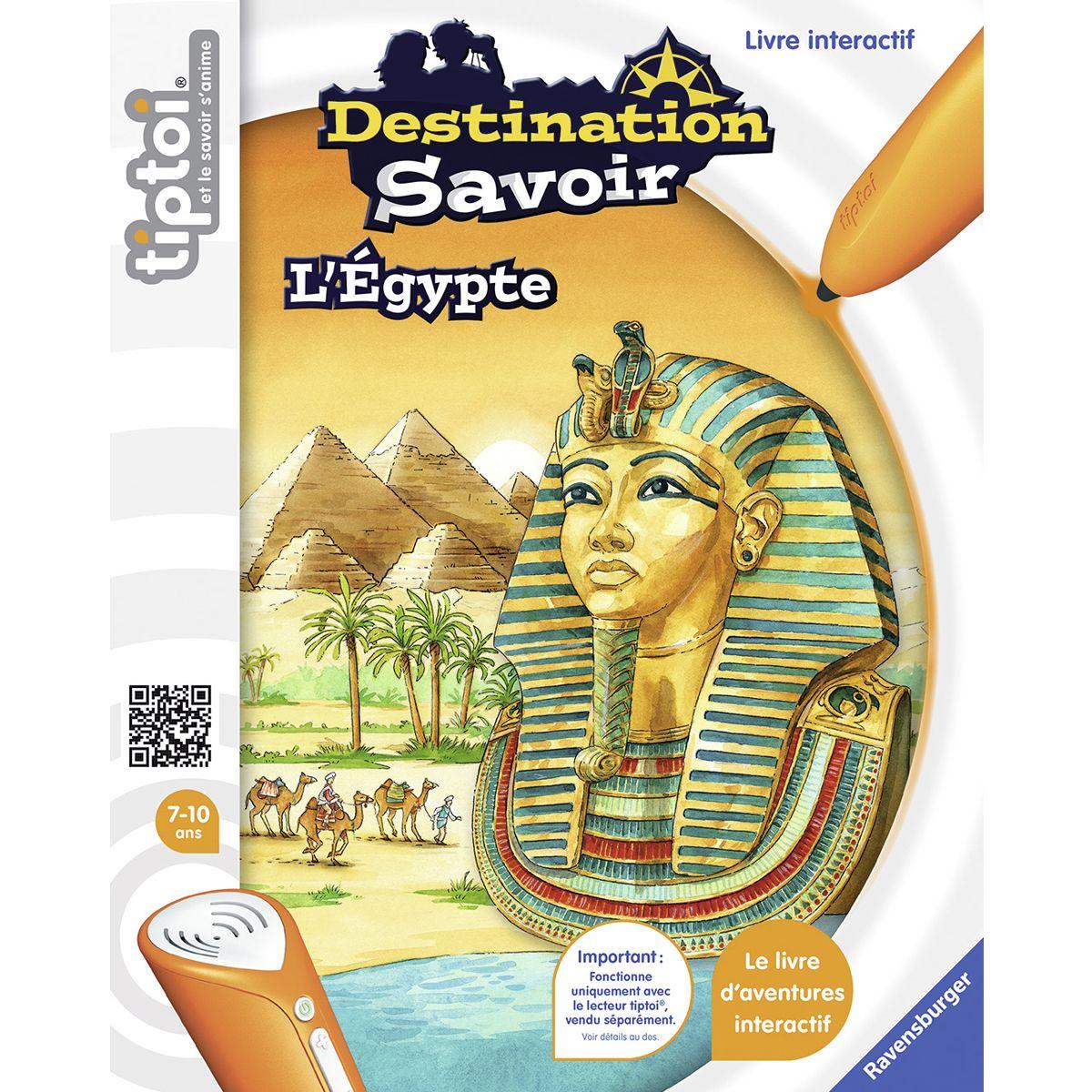 Lecteur Tiptoi Et Livre Destination Savoir Egypte Jeux