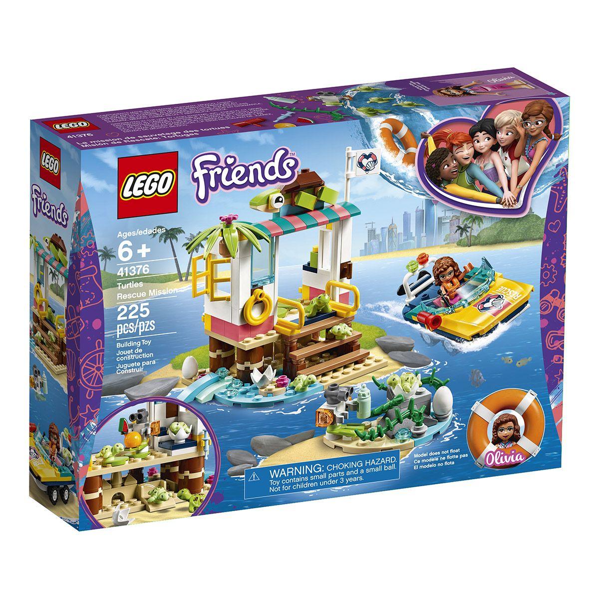 Des Mission La Friends 41376 Sauvetage De Lego® Coffrets Tortues TKlFJc1