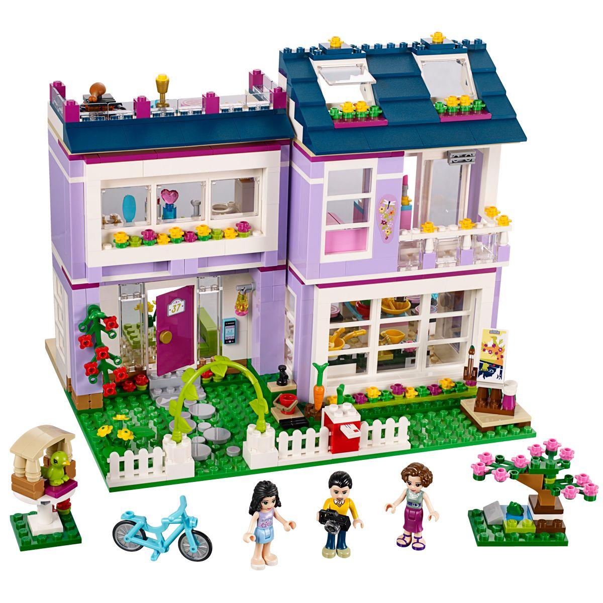 super qualité sortie de gros juste prix La maison d'Emma LEGO Friends - 41095 - Ville et univers ...