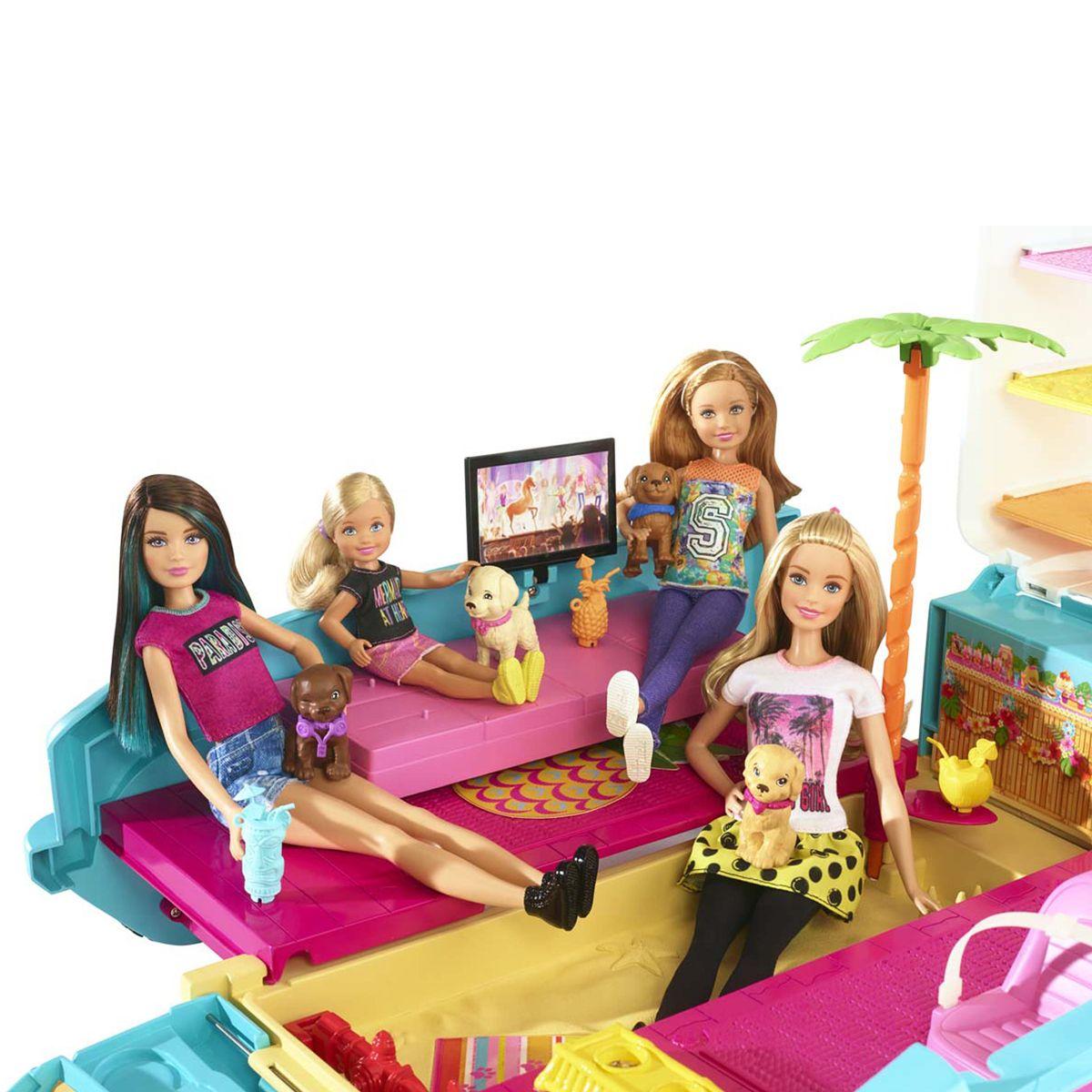 no sale tax pretty cheap multiple colors Barbie 4x4 transformable des chiots - Poupons et poupées ...