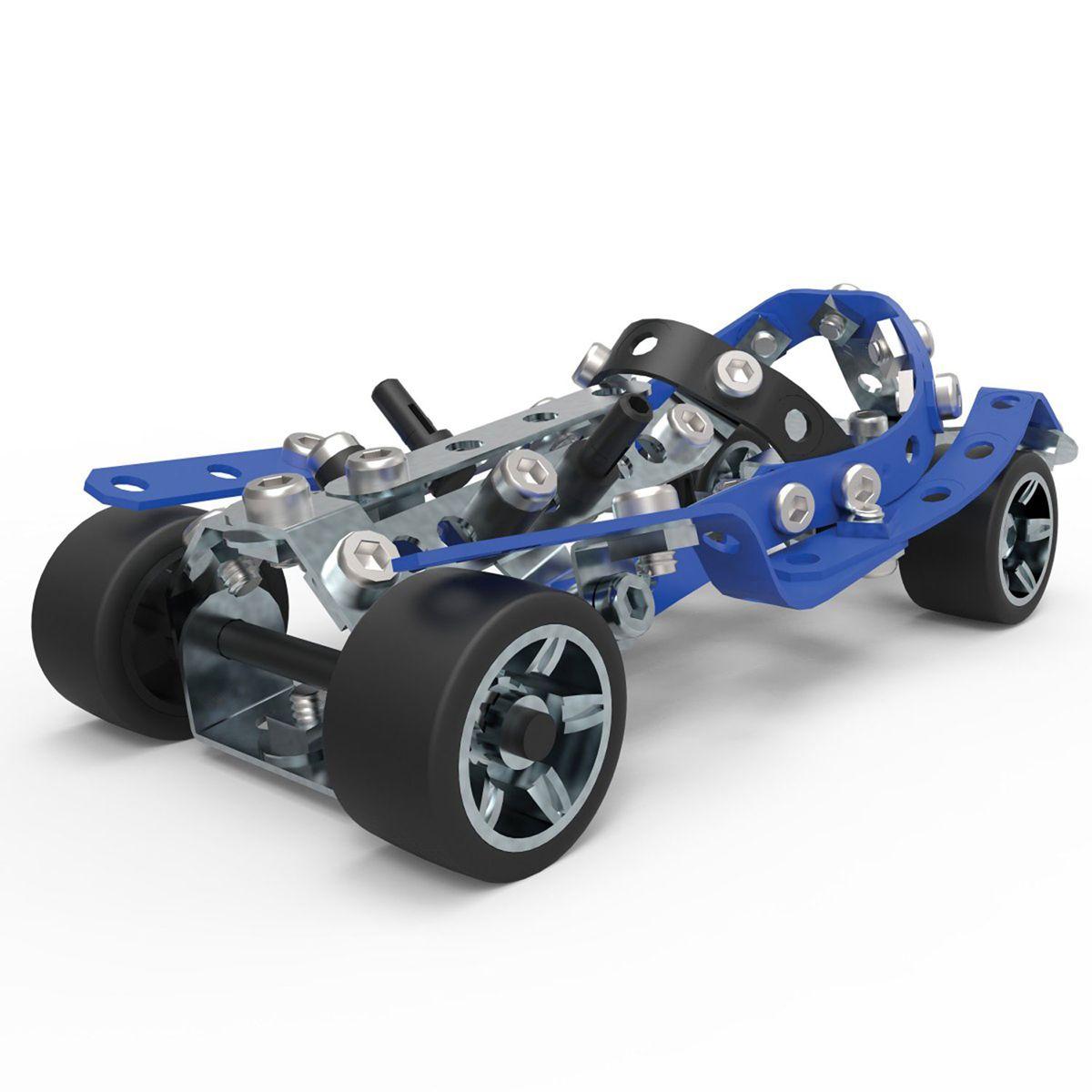 Meccano Voiture De Course Automobile 5 Modeles Jeux De