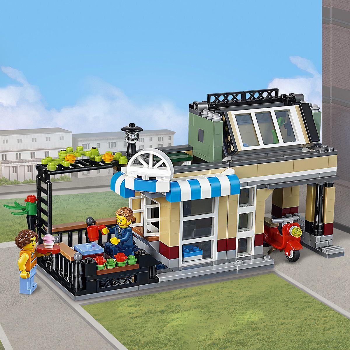 De 3 Univers La Maison Ville En Lego Et Creator 31065 1 2YWDEI9H