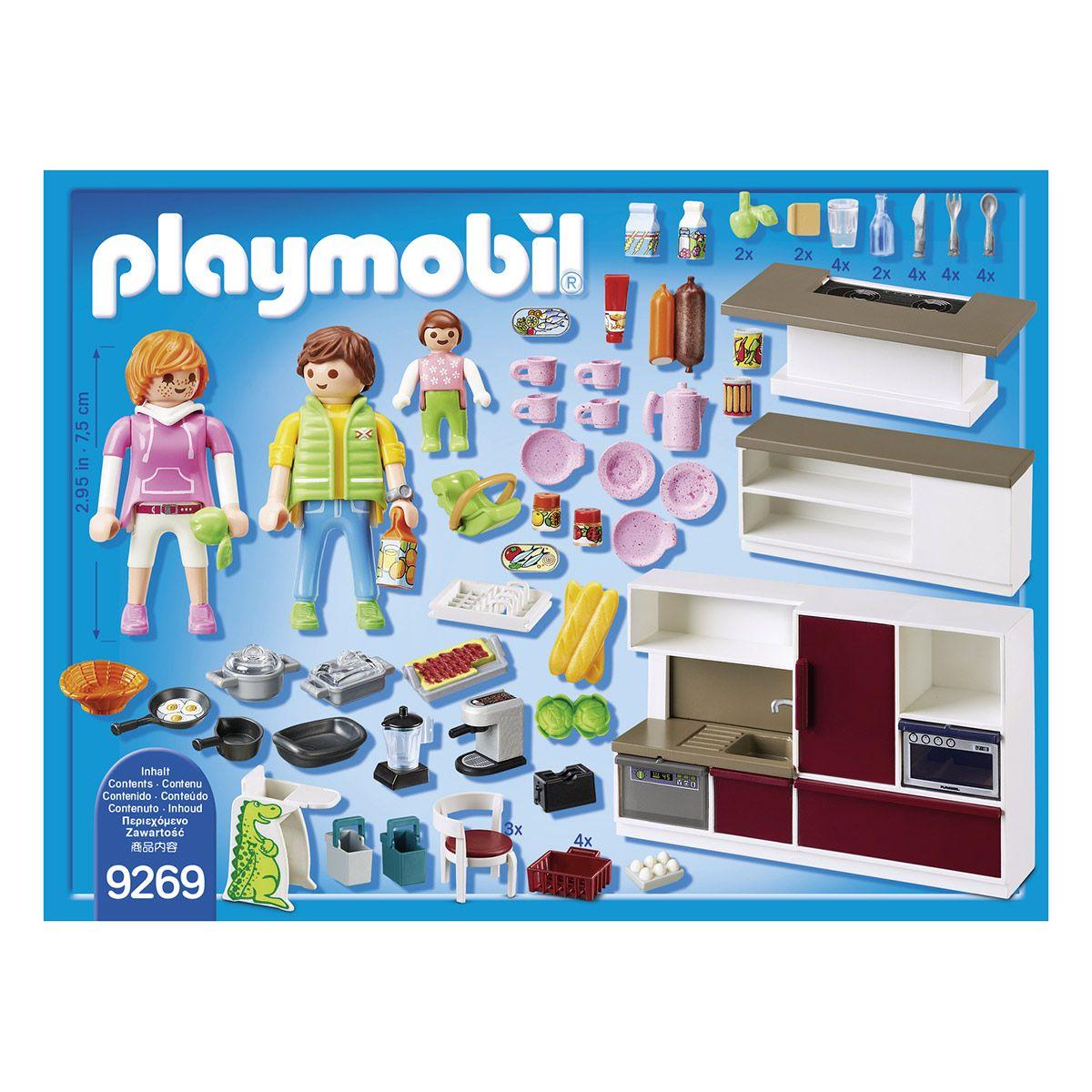 Cuisine Amenagee Playmobil City Life La Ville La Police Et Les